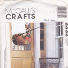 McCall's 2332 Pattern Halloween Thanksgiving Fall Decor Cheryl Hanes