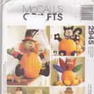 McCall's 2945 Pattern Halloween Fall Pumpkin Pokes Home Decor