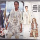 Butterick 3857 Pattern one size fits 6-16 Uncut Make Jacket or Vest From a Blanket