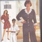 Butterick 3261 Pattern 14 16 18 Uncut Jumpsuit Wide or Straight or Short Leg