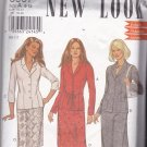 Simplicity New Look 6007 Pattern 8 10 12 14 16 18 Uncut Button Front Jacket Skirt