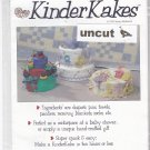 Kinder Kakes Pattern 9511 Uncut Baby Shower Gift DIY Diaper Towel Blanket Cake