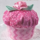 Cupcake Pincushion Pattern LB-501 Uncut Crafts Sewing Gift Cindy Taylor Oates Taylor Made Designs