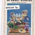 So Sweet Bunnies Jar Topper Pattern Krafdee 835 Uncut