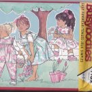 Butterick 4152 Pattern Uncut 4 5 6 Jumpsuit Jumper Girls Children Kids Toddlers Ruffle