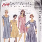 McCall's 7730 Pattern Uncut 42 44 46 bust 46 48 50 Princess Seam Dress Plus