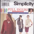 Simplicity 9122 Pattern Uncut 26W 28W 30W 32W Separates Mary Duffy HOAX System