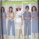 Simplicity 4552 Pattern 20W 22W 24W 26W 28W Plus Uncut Separates Kimono