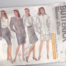 Butterick 6579 Pattern Uncut 12 Loose Fit Jacket Skirt w/ Flounce