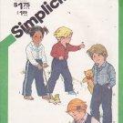 Simplicity 9885 Uncut sizes 1/2, 1 Jeans Western Shirt Reversible Vest Vintage 1980s