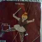 Tightrope Walker Jumping Jack Plastic Canvas Kit Joan Green BS130TW