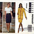 5986 Butterick Pattern 12 14 16 Uncut Fast Easy Jacket Top Skirt Suit Leslie Fay
