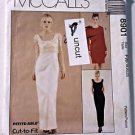 McCall Pattern 8901 Lined Long or Short Sheath Dress Top 18 20 22 Uncut Formal