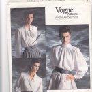 Vogue 1913 Pattern 12 14 16 Blouse Oscar de la Renta Uncut