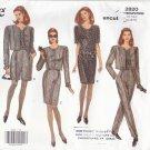 Vogue 2820 Pattern 12-14-16 Easy Jacket Dress Top Skirt Shorts Pants Uncut