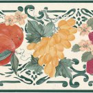 Wallpaper Border Embossed Pears Grapes Strawberries 5.25 in x 5 meters Fruit