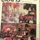 McCall 3367 Pattern Holiday Table Accessories Horrible Clown Elf Turkey Witch