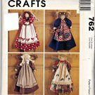 762 McCalls Crafts Pattern Sent From Above Angels Uncut