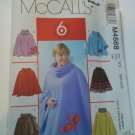 McCall 4668 Fabulous Fleece Ponchos Small Medium uncut