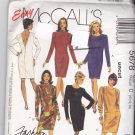 McCall 5678 Pattern 10 12 14 Back Zip Dress for Stretch Knits Uncut