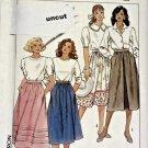Simplicity 9593 Pattern Uncut 14 16 18 20 Plus Fuss-Free Fit Skirts Modest