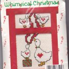 New Berlin Co. Counted Cross Stitch Ornament Kit 033522 Decorating Ducks