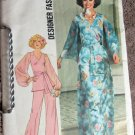 Simplicity 7259 Uncut 14 Wide Leg Pants Long Skirt Top 1970s
