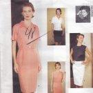 Vogue 1600 Pattern 12 14 16 Dress Top Skirt Jennifer George Uncut