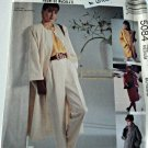 McCall 5084 Pattern Lined Coat in 3 Lengths 14 16 Medium Uncut