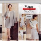 Vogue 1601 Pattern 12 14 16 Jacket Dress Top Skirt Tamotsu Career Wardrobe Uncut