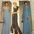 Butterick B4731 Boned Lined Dress Gown Lined Shrug Sewing Pattern AA 6 8 10 12