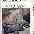 0010 McCall's Victorian Magic Pattern pillows frames accessories Uncut