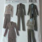 Butterick 4295 Pattern Shawl Collar Jacket Belt Skirt Pants 16 18 20 22 Uncut