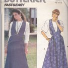 Butterick B4678 Pattern Very Easy Jumper and Top 12 14 16 Uncut