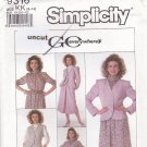 Simplicity Pattern 9316 Skirt Blouse Vest Jacket 8 10 12 14 Uncut