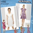 Simplicity 1799 Uncut 4 6 8 10 12 Fitted Dress Straight or Flared Project Runway