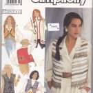 Simplicity 7022 Uncut Decorated Vests 6 8 10 12 14 16 18 20 22 24 Below Hip or Waist Length