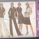 Simplicity 6514 Uncut size 18 Jacket Pleated Skirt Pants Blouse Vintage 1970s 70s