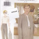 Vogue Woman 9294 Easy Pattern 8 10 12 Lined Jacket Skirt Pants Uncut