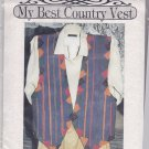 Eileen's Design Studio V14 Country Vest Pattern Uncut Patchwork Layered Vest