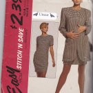 McCall's Stitch n Save 5685 Pattern 8 10 12 Uncut Jacket Chemise Dress