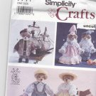 "Simplicity 7711 Pattern 13"" Bear Historical Clothes uncut Alexia Roosevelt"