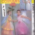 McCall 3365 Costume Flower Fairy Girls Dress Wings Pattern 3 4 5 6 7 8 Uncut