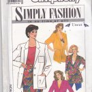 Simplicity 9628 Uncut 6 8 10 12 14 Jacket Cropped or Long Patch Pockets