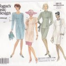 Vogue 2812 Pattern 12 14 16 uncut Easy Fitted Dress Top Tunic Skirt