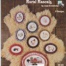 Rural Rascals June Ertenberg New Berlin B 104 leaflet Counted Cross Stitch Farm Animals