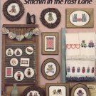Stitchin' in the Fast Lane Cross Stitch Chart Booklet Canterbury Designs