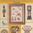Leisure Arts Charted Needlework Designs #49 Cross Stitch and Needlepoint Booklet