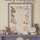Baby Keepsakes Cross Stitch pattern leaflet Leisure Arts 540