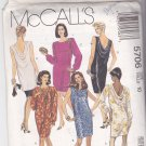 McCall's 5706 Uncut 10 Dress Low Cut Back Cowl Dressy